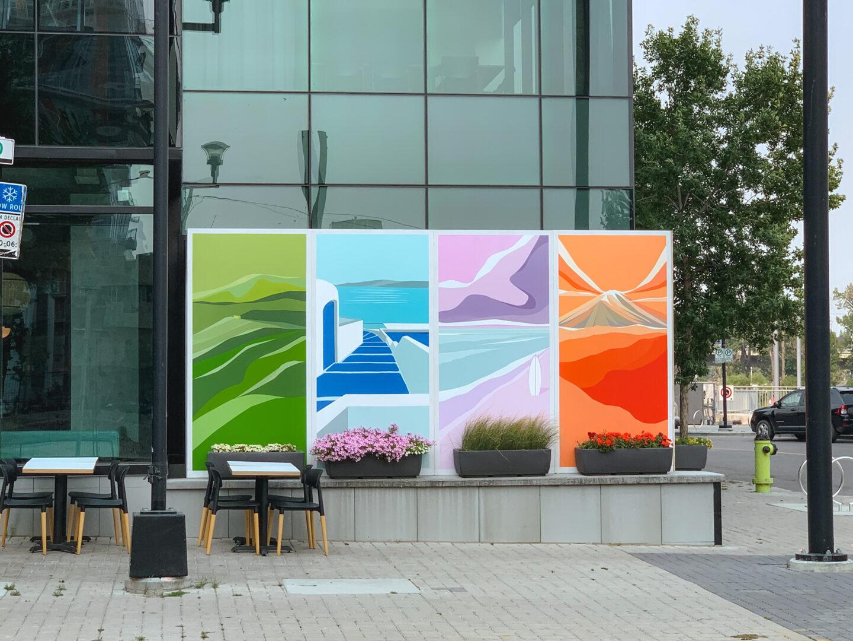 Public art in downtown Calgary, Alberta