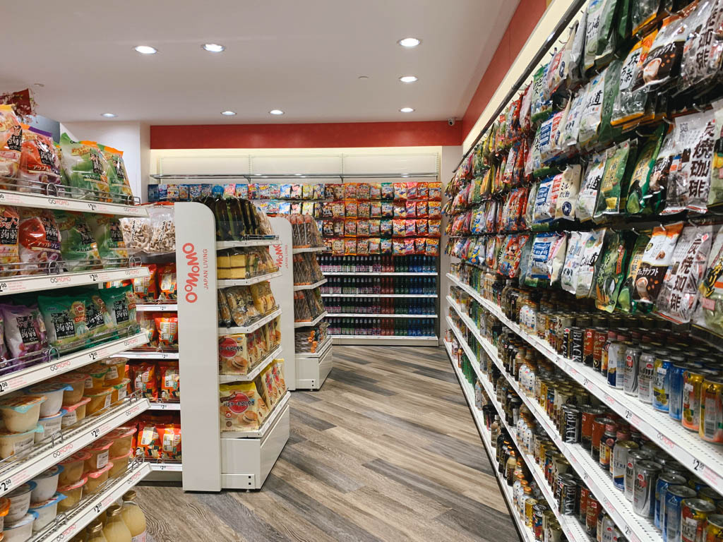 Oomomo store in Markham, Ontario