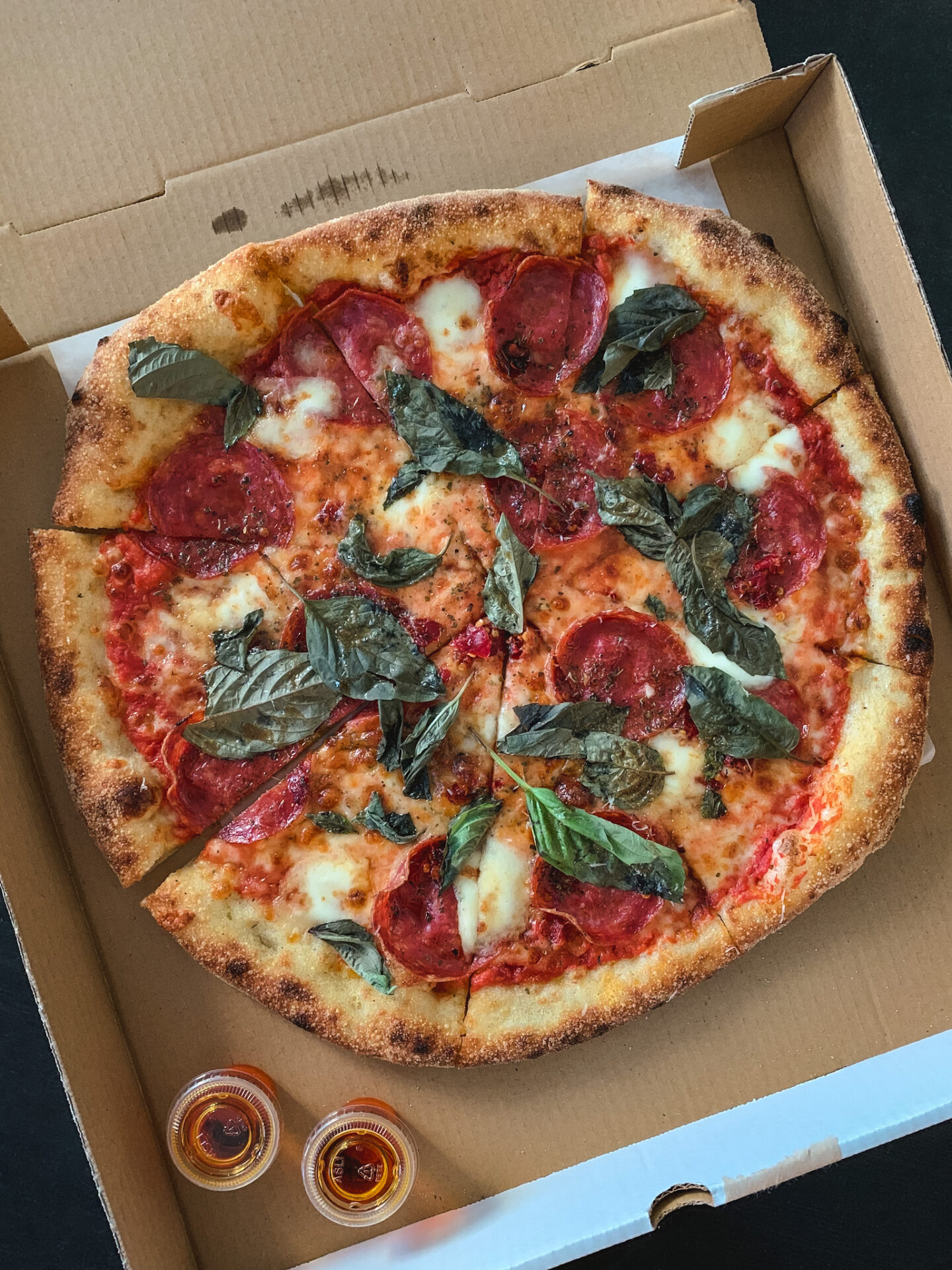 NEO-NY Genoa Salami from Pizzeria Libretto in Toronto