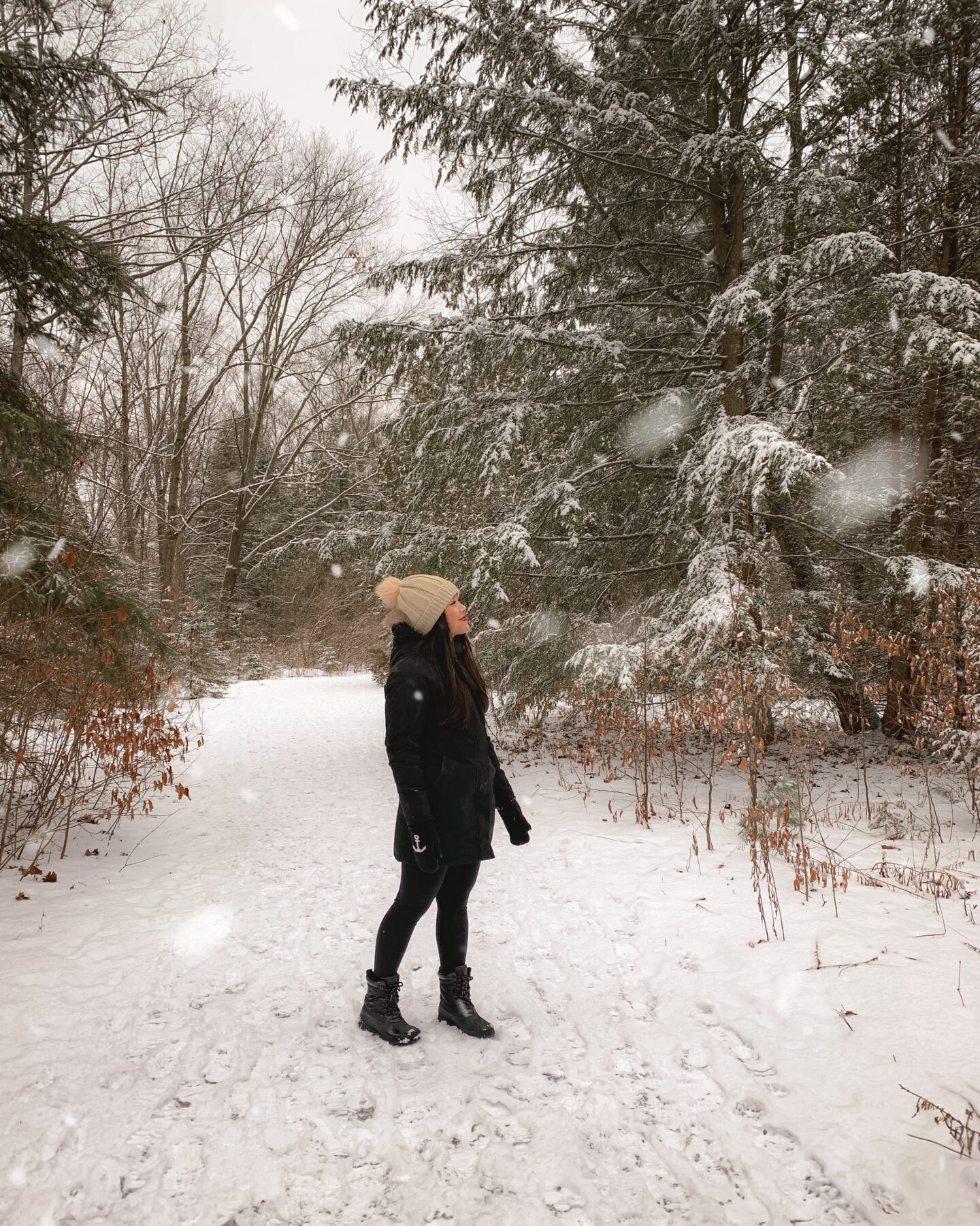 Hiking in Heber Down Conservation Area, Bowmanville, Ontario