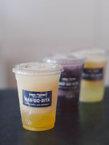 Margaritas from Lone Star Texas Grill in Ontario