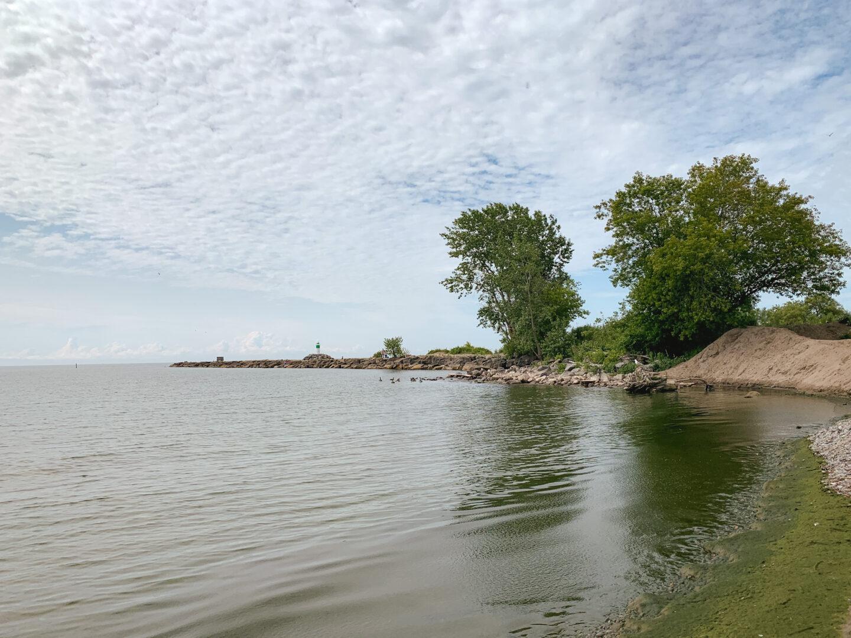 Port Darlington East Beach in Bowmanville, Ontario