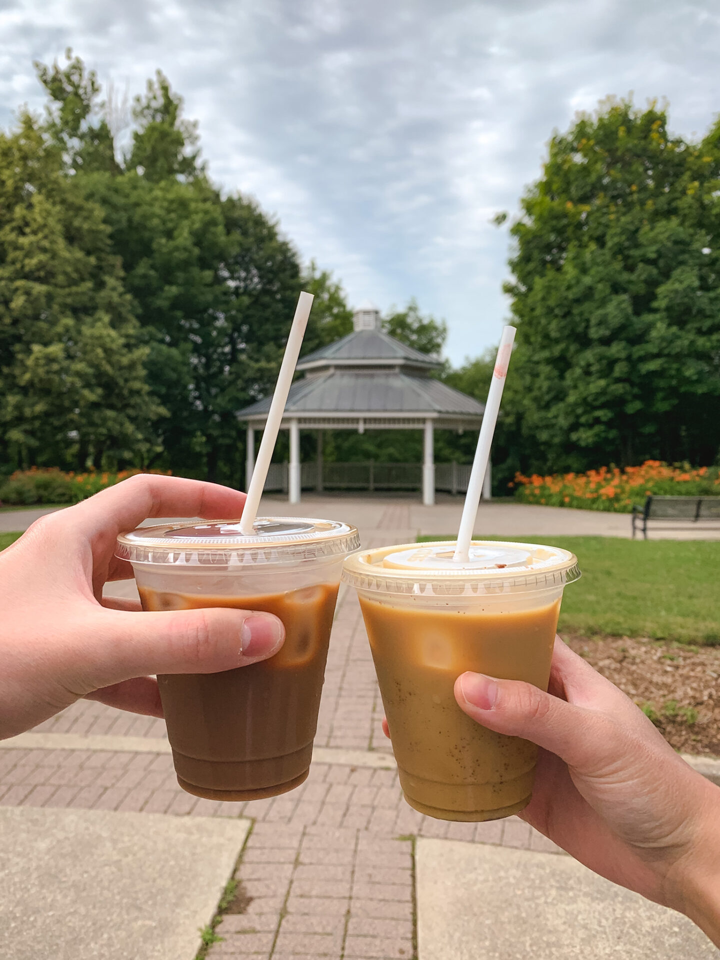 Roam Coffee at Rotary Park in Bowmanville, Ontario