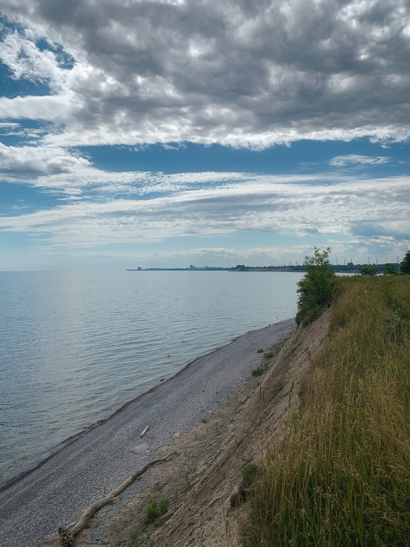 Bluffs at Samuel Wilmot Nature Area in Newcastle, Ontario