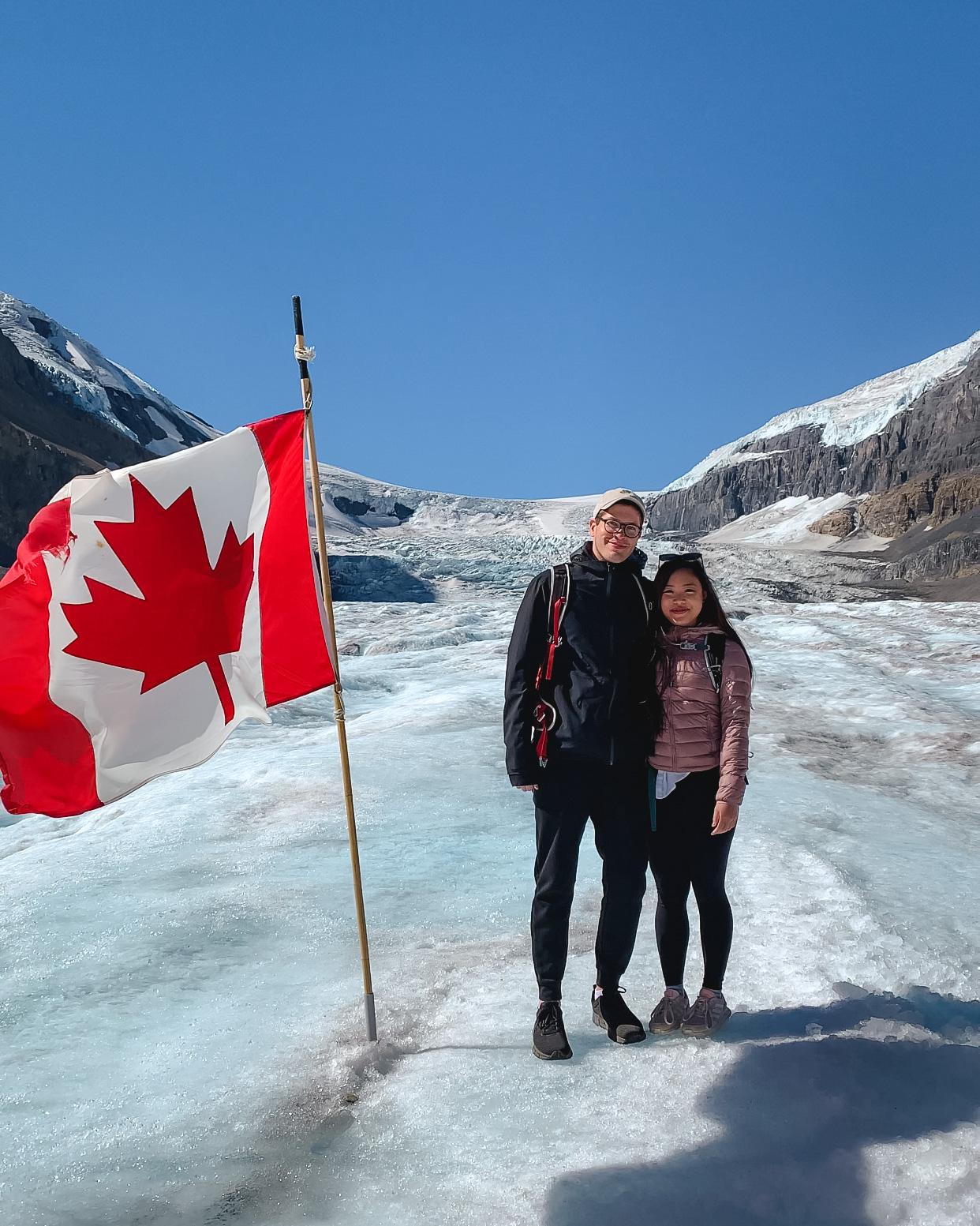 Columbia Icefield Glacier Adventure in Jasper National Park, Alberta