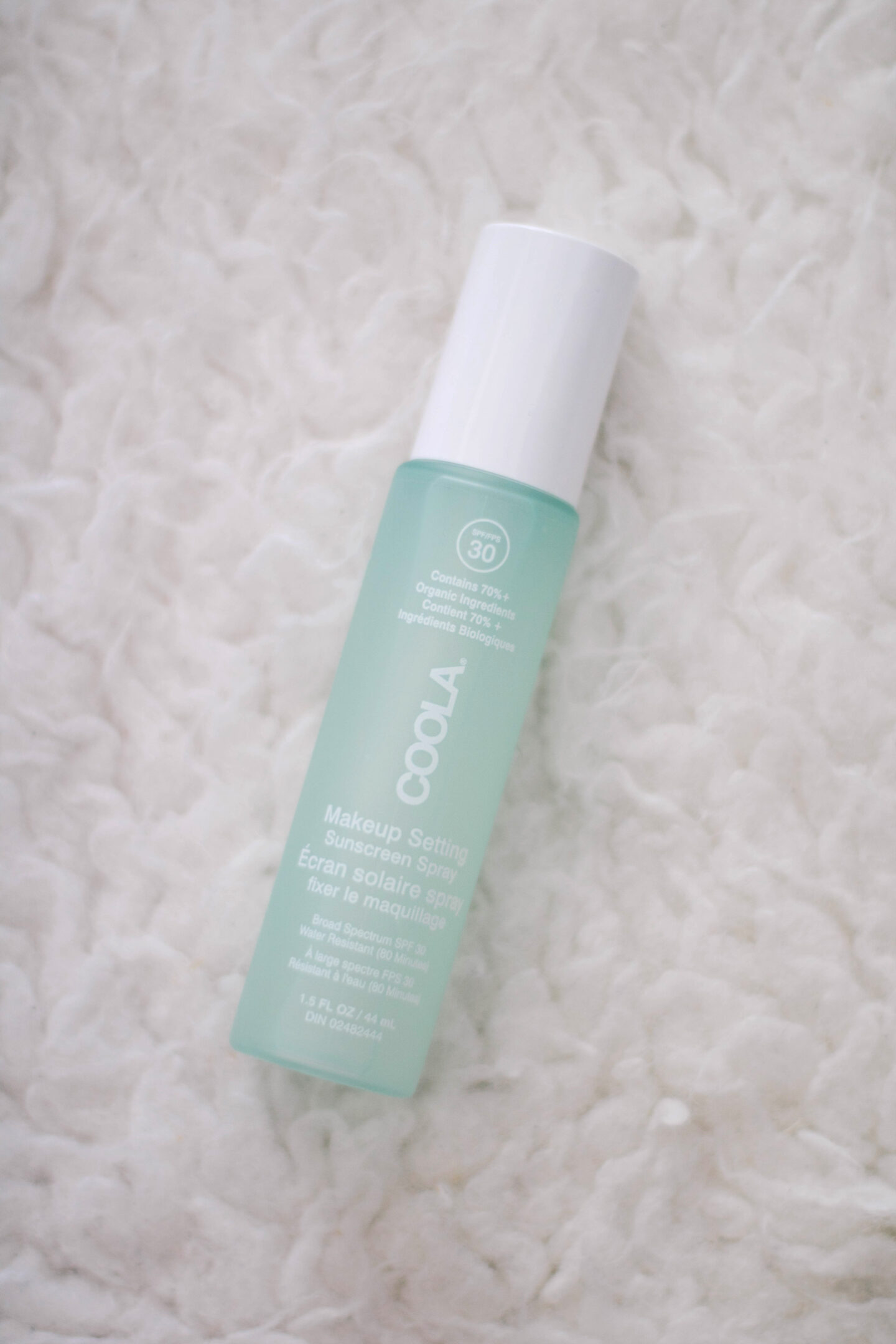 Coola SPF 30 Makeup Setting Spray - Beautysense Canada review