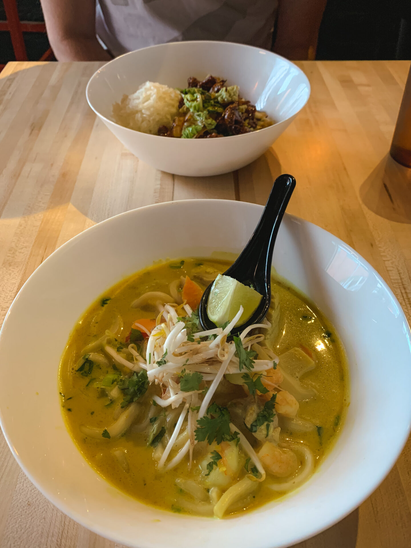 Seafood Laksa from FOO Asian Street Food in Calgary, Alberta