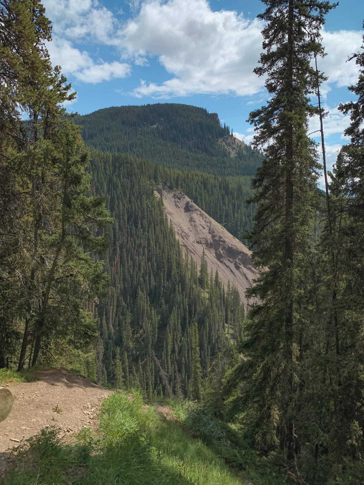 Ink Pots hiking trail in Banff, Alberta
