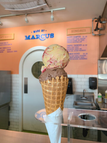 Ice cream from Made by Marcus in Calgary, Alberta