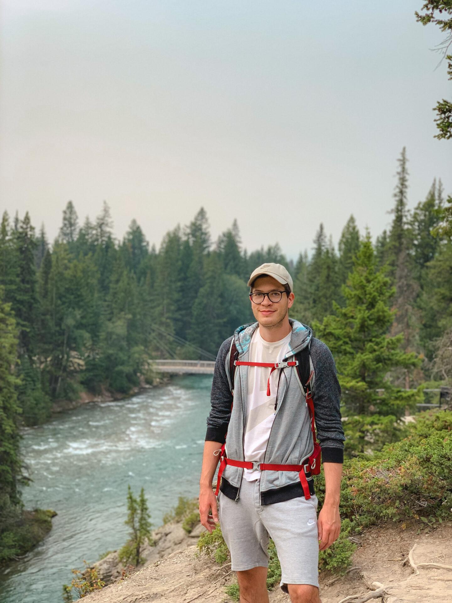 Maligne Canyon in Jasper National Park, Alberta