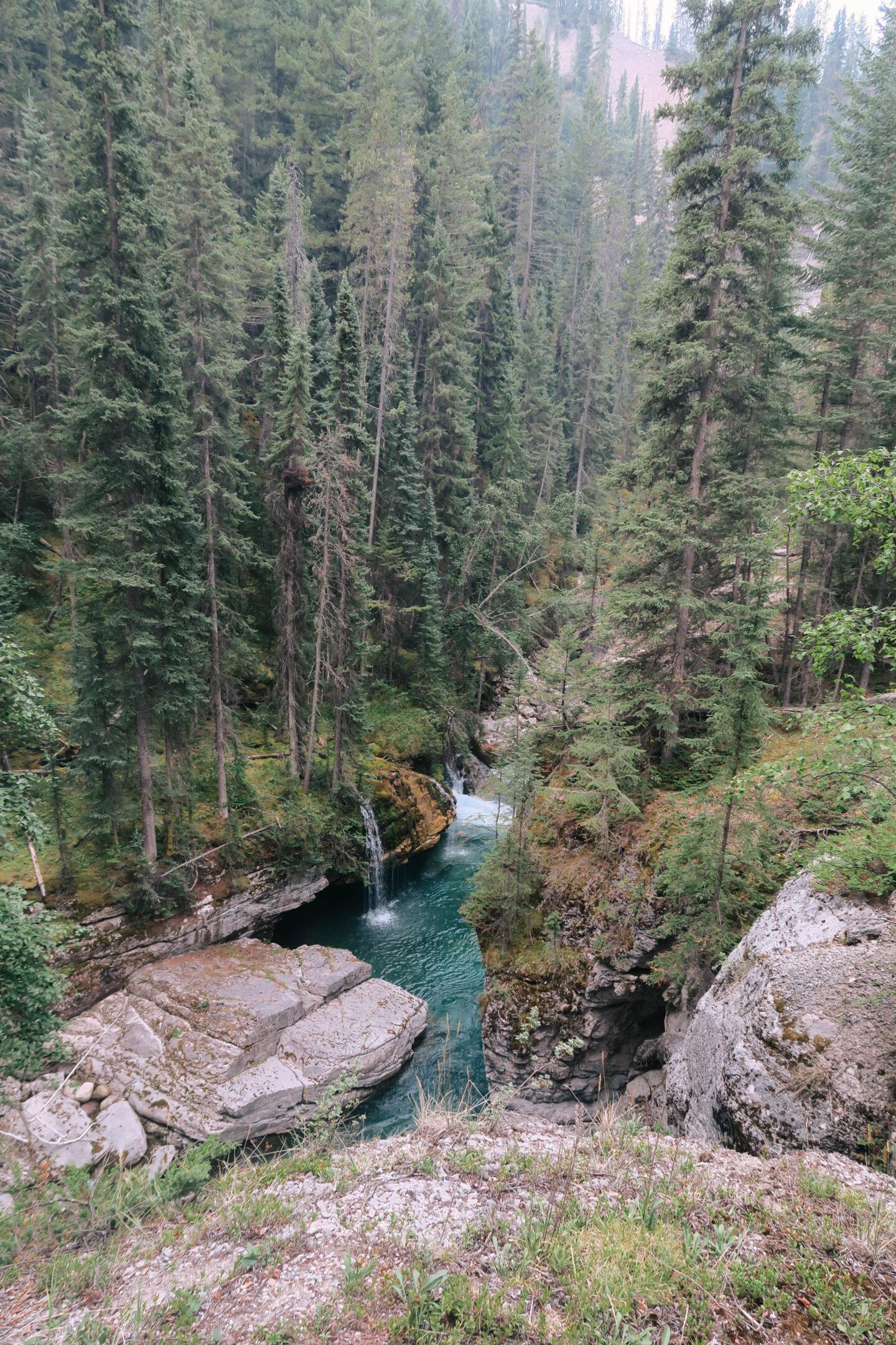 Maligne Canyon in Jasper, Alberta