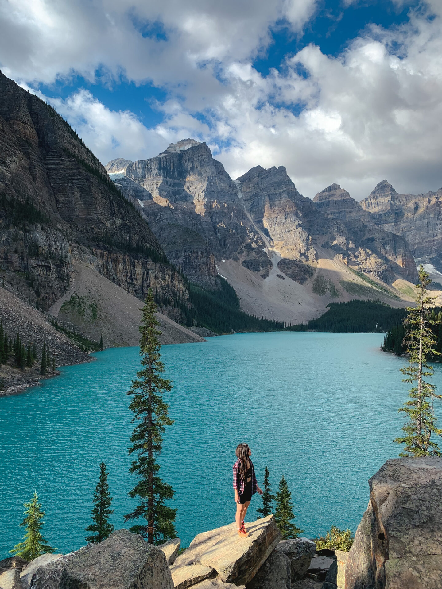 Moraine Lake in Banff, Alberta