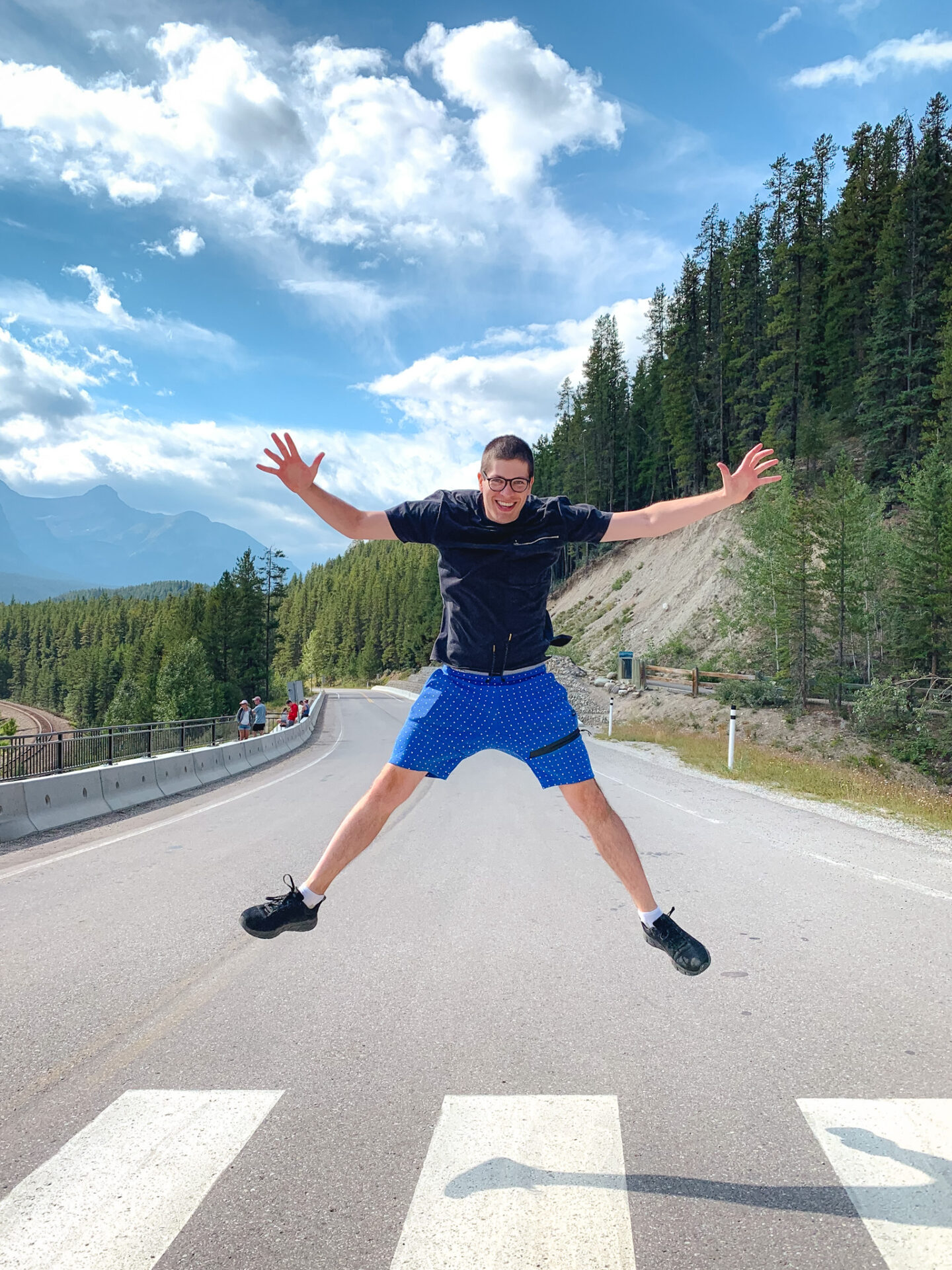 Morant's Curve in Banff, Alberta