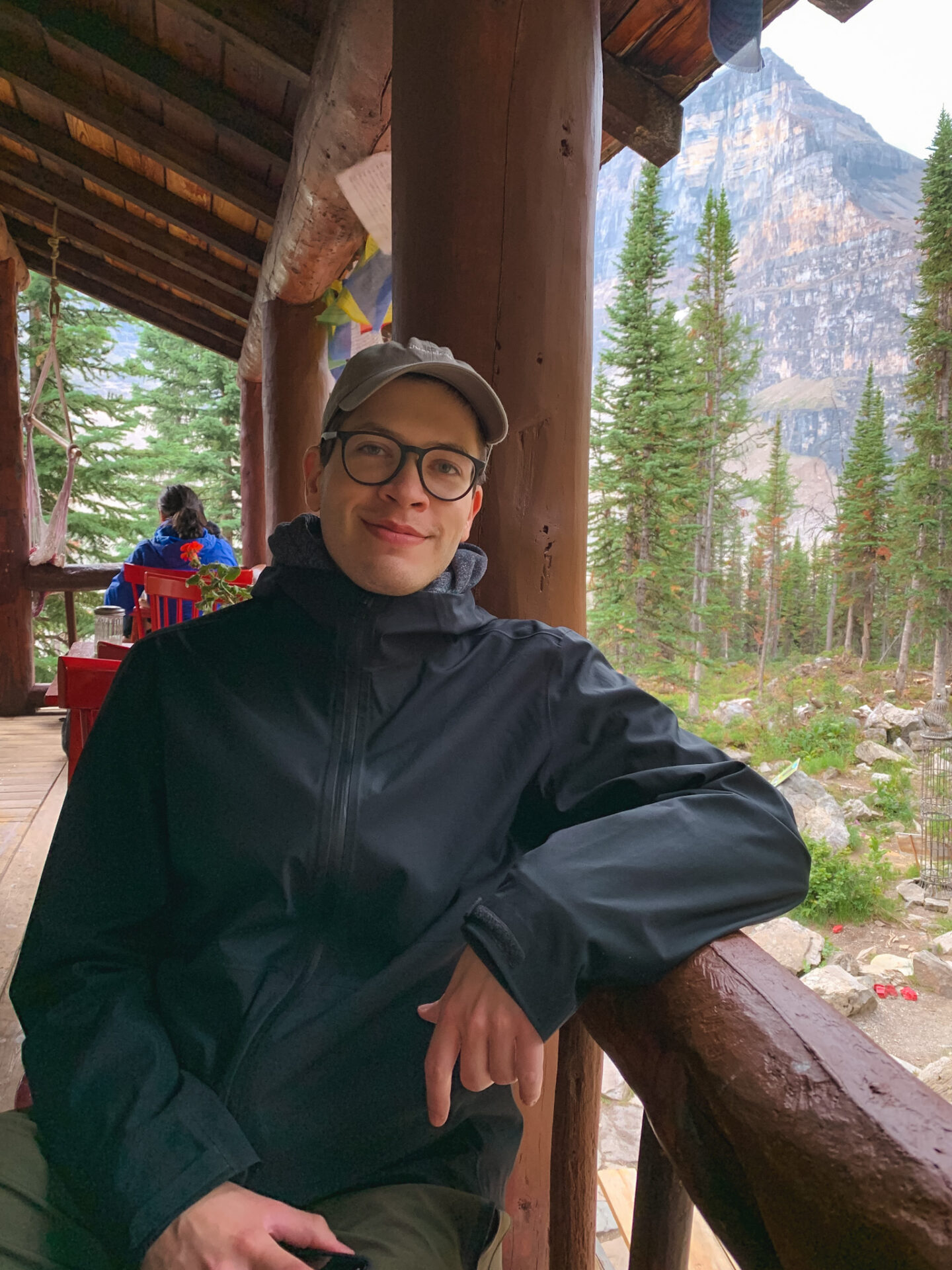 Plain of the Six Glaciers Teahouse in Lake Louise, Alberta