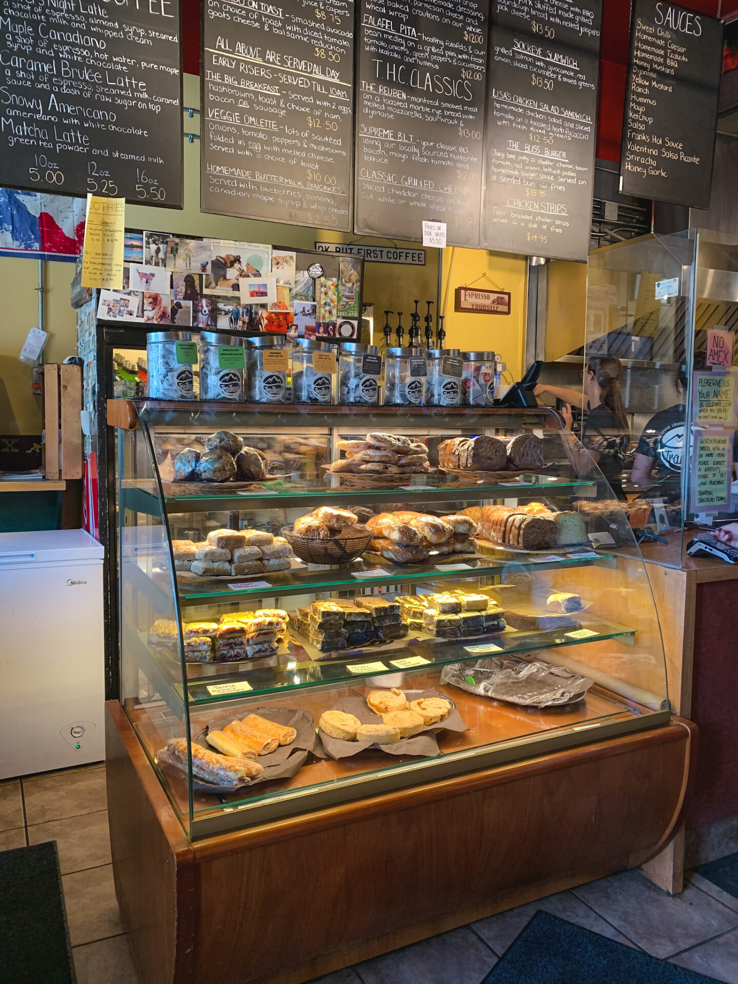 Trailhead Café in Lake Louise, Alberta