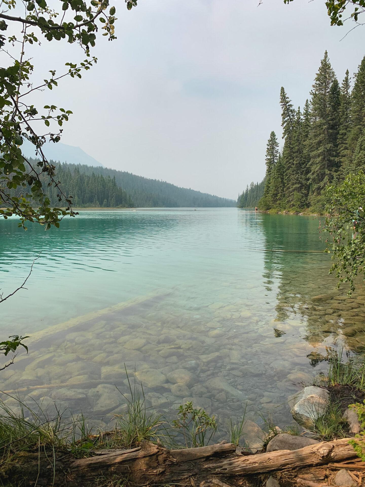 Valley of the Five Lakes hike in Jasper, Alberta