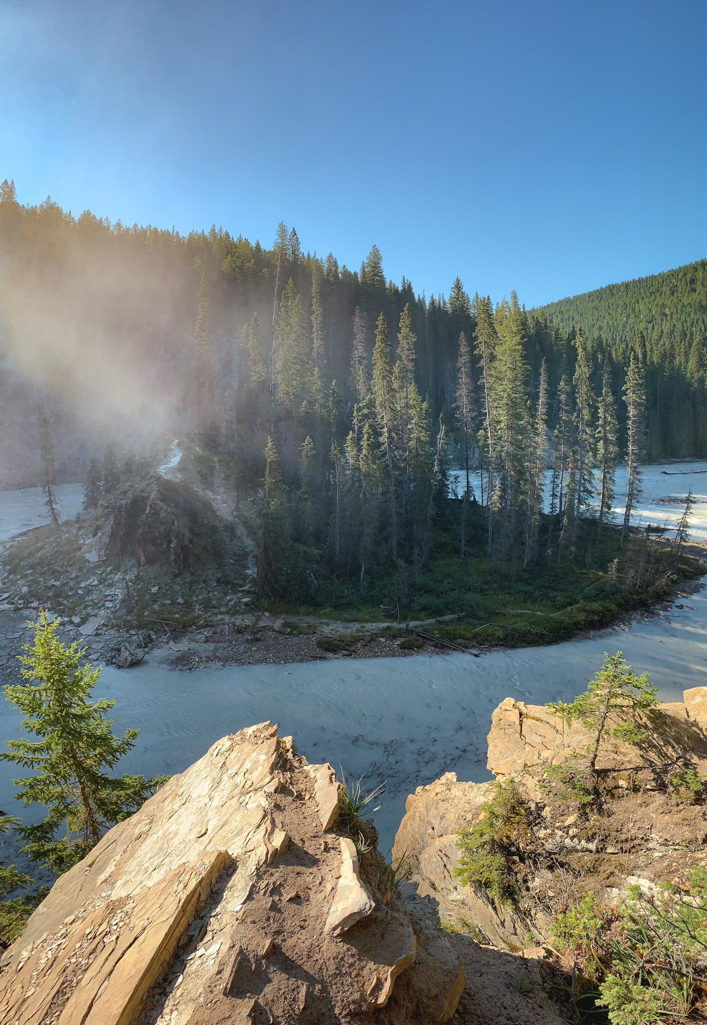 Wapta Falls in Yoho National Park, British Columbia
