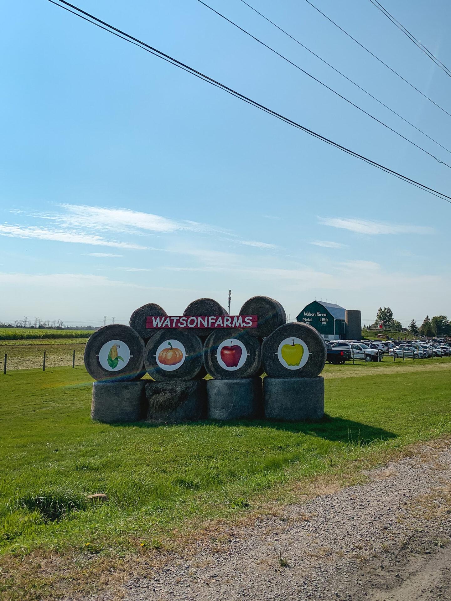 Watson Farms in Bowmanville, Ontario