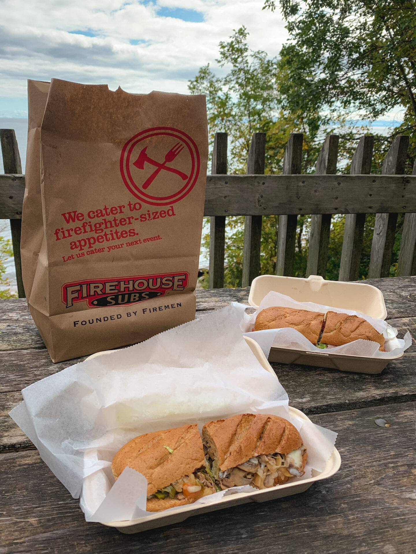 Firehouse Subs picnic at Lakeview Park in Oshawa, Ontario